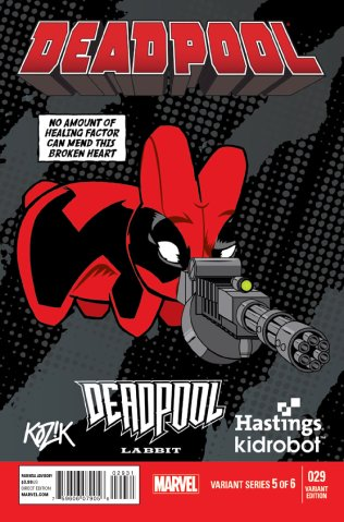 DEADPOOL #29 VARIANT B
