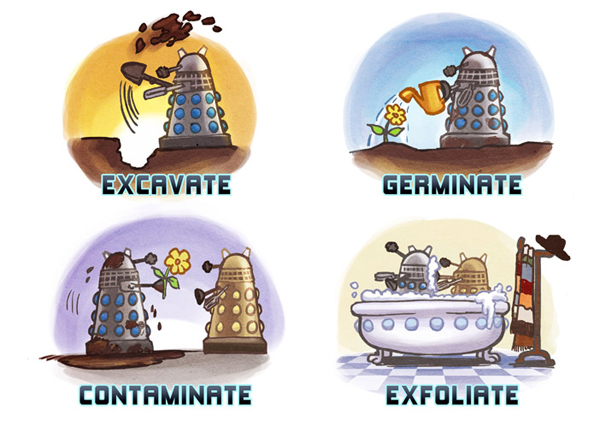 Doctor Who - Dalek Dialect by Lisa Rye