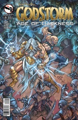 GODSTORM AGE OF DARKNESS ONE-SHOT COVER B
