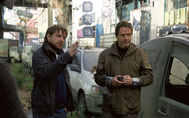 "Director Gareth Edwards discusses the ""Contamination Zone"" sequence with Bryan Cranston."