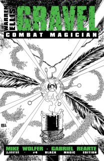 GRAVEL COMBAT MAGICIAN #4 BLACK MAGIC COVER