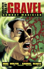 GRAVEL COMBAT MAGICIAN #4 HORROR COVER