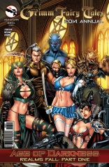 GRIMM FAIRY TALES 2014 ANNUAL COVER B