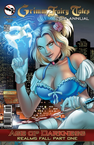 GRIMM FAIRY TALES 2014 ANNUAL COVER C