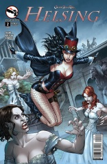 GRIMM FAIRY TALES HELSING #2 COVER A