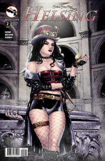 GRIMM FAIRY TALES HELSING #2 COVER B