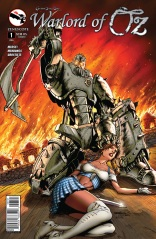 GRIMM FAIRY TALES WARLORD OF OZ #1 COVER D