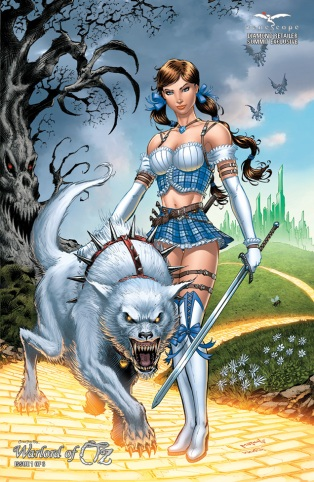 GRIMM FAIRY TALES WARLORD OF OZ #1 COVER F