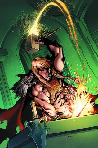 HE MAN AND THE MASTERS OF THE UNIVERSE #13