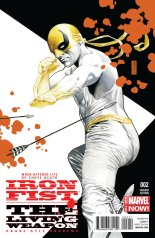 IRON FIST THE LIVING WEAPON #2 VARIANT