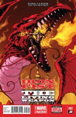 IRON FIST THE LIVING WEAPON #2