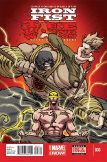 IRON FIST THE LIVING WEAPON #3