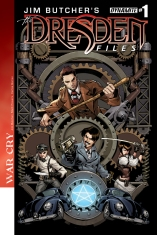 JIM BUTCHER'S DRESDEN FILES WAR CRY #1 GOMEZ COVER