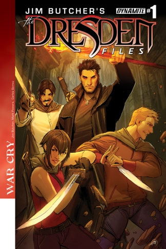 JIM BUTCHER'S DRESDEN FILES WAR CRY #1 SEJIC COVER