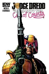 JUDGE DREDD MEGA-CITY TWO #5 SUB COVER