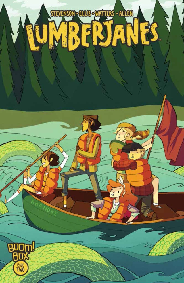 Lumberjanes #2 Cover A