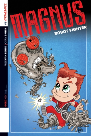 MAGNUS ROBOT FIGHTER #3 HAESER COVER