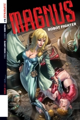 MAGNUS ROBOT FIGHTER #3 LUPACCHINO COVER