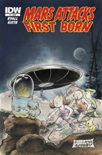 MARS ATTACKS FIRST BORN #1