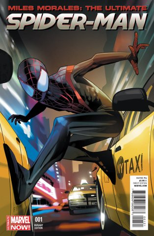 MILES MORALES ULTIMATE SPIDER-MAN #1 VARIANT A