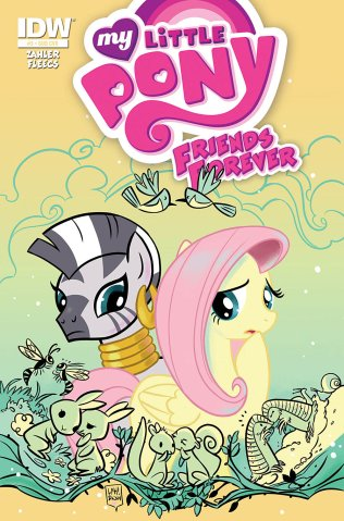 MY LITTLE PONY FRIENDS FOREVER #5 SUB COVER