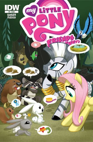MY LITTLE PONY FRIENDS FOREVER #5