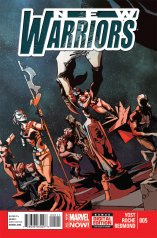 NEW WARRIORS #5