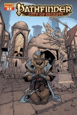PATHFINDER CITY OF SECRETS #1 VARIANT COVER