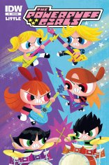 POWERPUFF GIRLS #9 SUB COVER
