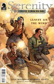 SERENITY LEAVES ON THE WIND #5 JEANTY COVER