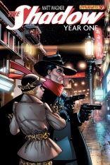 SHADOW YEAR ONE #9 CHAYKIN COVER
