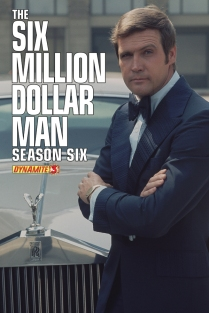 SIX MILLION DOLLAR MAN SEASON 6 #3 SUB COVER