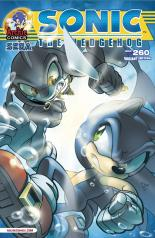 SONIC THE HEDGEHOG #260 VARIANT