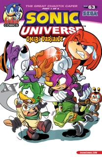 SONIC UNIVERSE #63 VARIANT