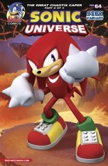 SONIC UNIVERSE #64 VARIANT