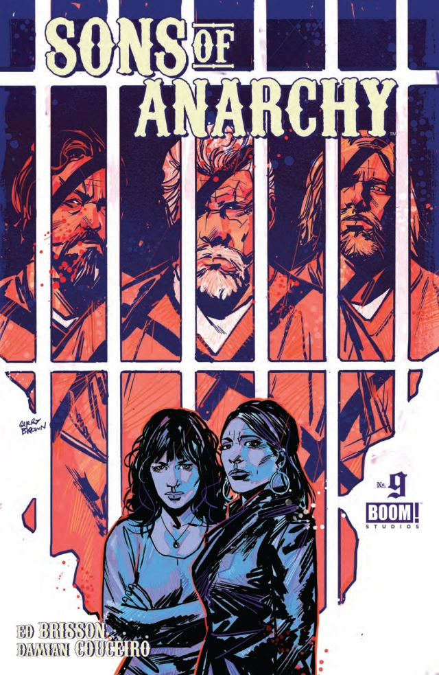 Sons of Anarchy #9 Cover