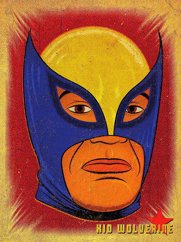 Super Libre Series Kid Wolverine by Jon Smith