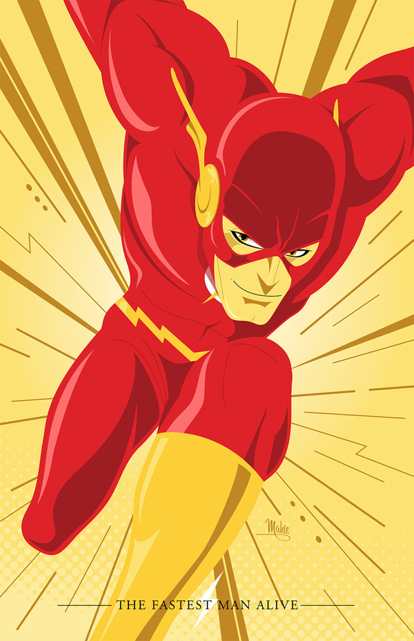 The Flash by Mike Mahle