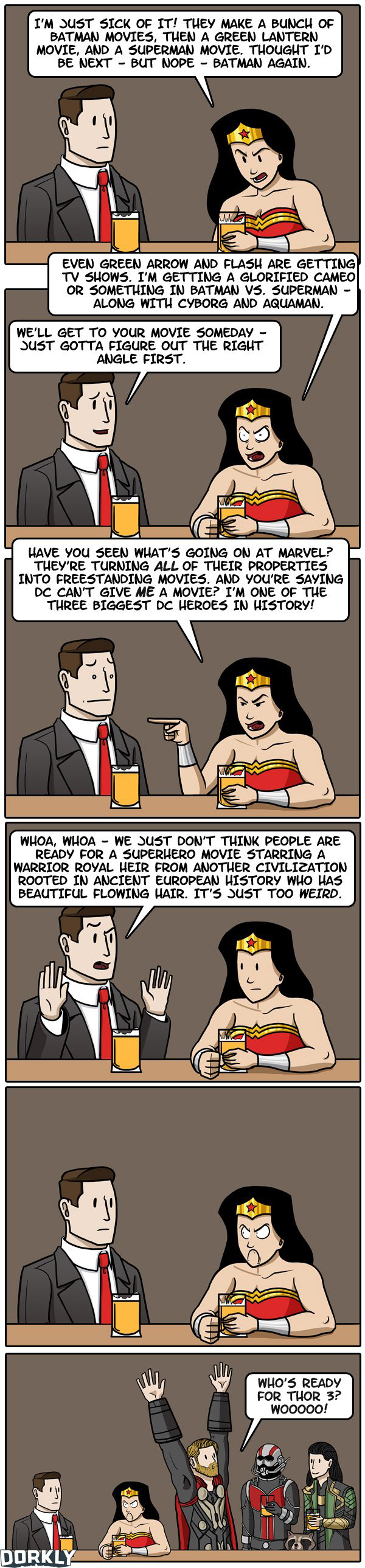 The Trouble with Wonder Woman by JULIA LEPETIT AND ANDREW BRIDGMAN (Dorkly)