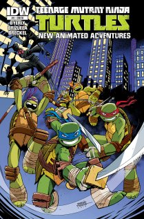 TMNT NEW ANIMATED ADVENTURES #11