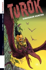 TUROK DINOSAUR HUNTER #4 HAESER COVER