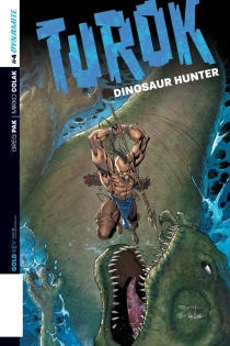 TUROK DINOSAUR HUNTER #4 SYAF COVER