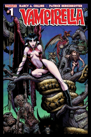 VAMPIRELLA #1 ADAMS COVER