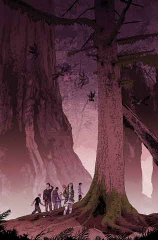 WOODS #1 COVER B