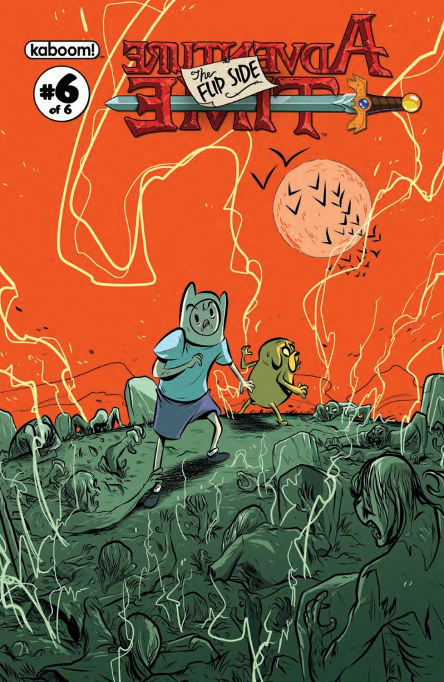 Adventure Time Flip Side #6 Cover A