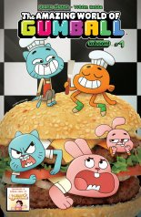 AMAZING WORLD OF GUMBALL #1 COVER B