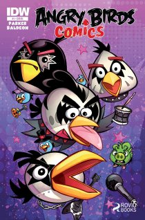 ANGRY BIRDS #1 VARIANT