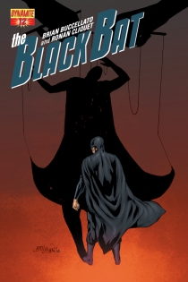 BLACK BAT #12 SUB COVER