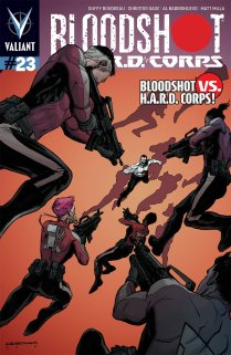 BLOODSHOT AND HARD CORPS #23