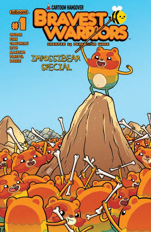 Bravest Warriors Impossibear Special Cover A